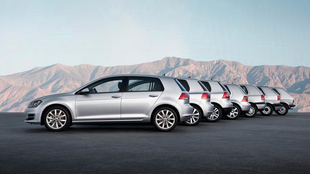 Volkswagen Golf, generaciones