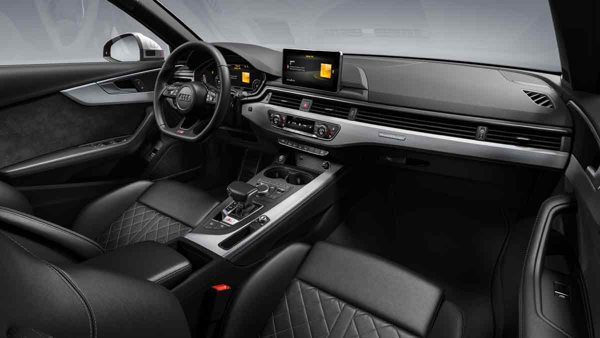 Audi S4 TDI 2019 interior