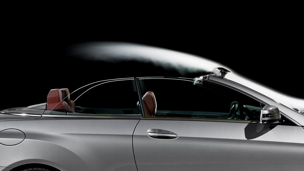 Deflector viento Mercedes