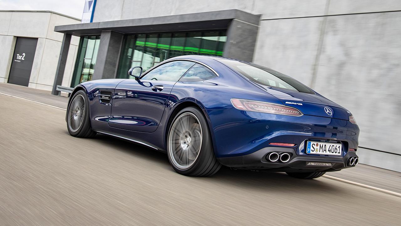 Mercedes-AMG GT 2019 trasera