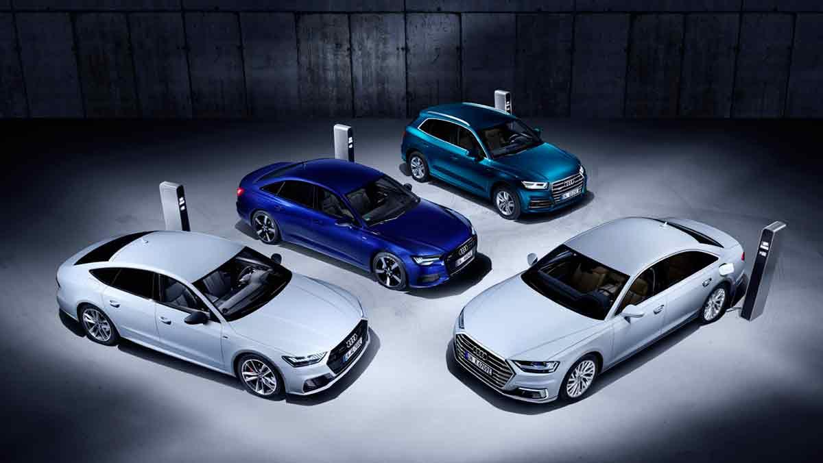 Nueva gama Audi TFSI e