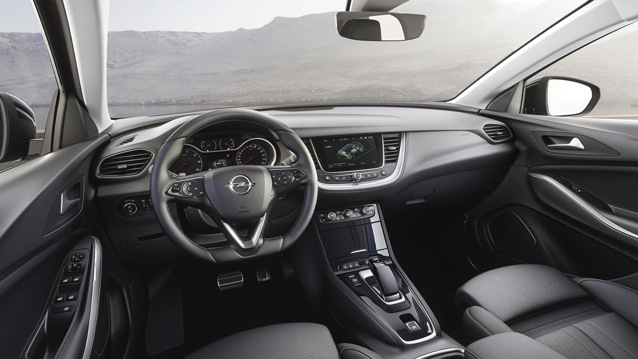 Opel Grandland X PHEV interior