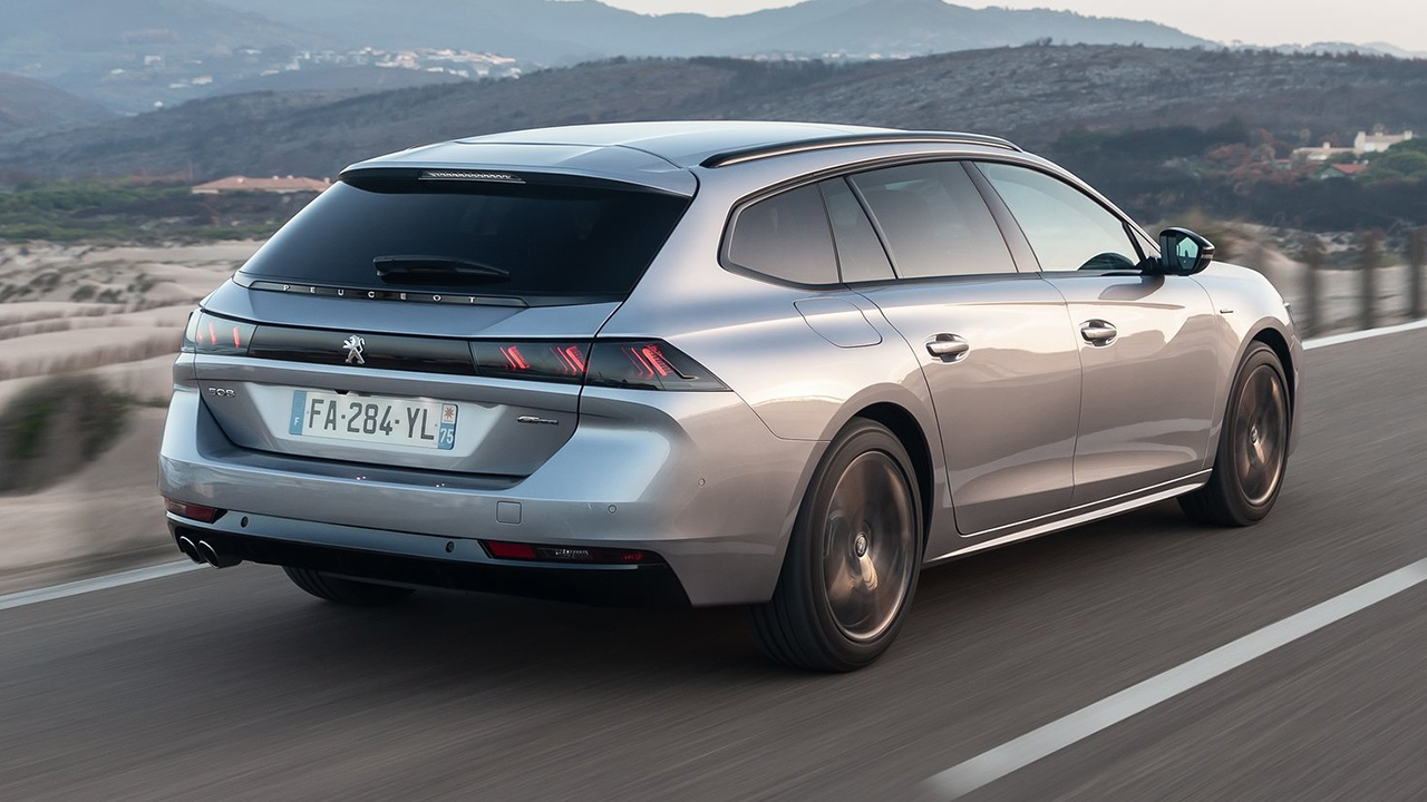 Peugeot 508 SW trasera
