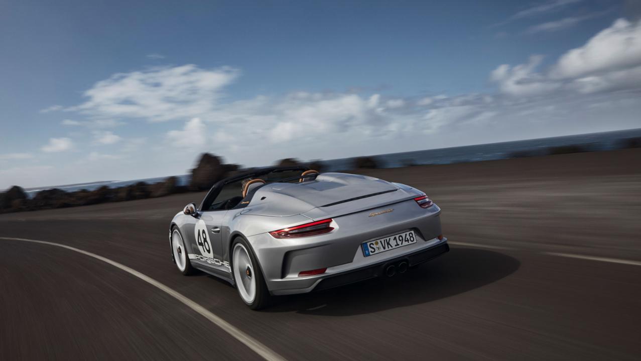 Porsche 911 Speedster 2019 Heritage Design