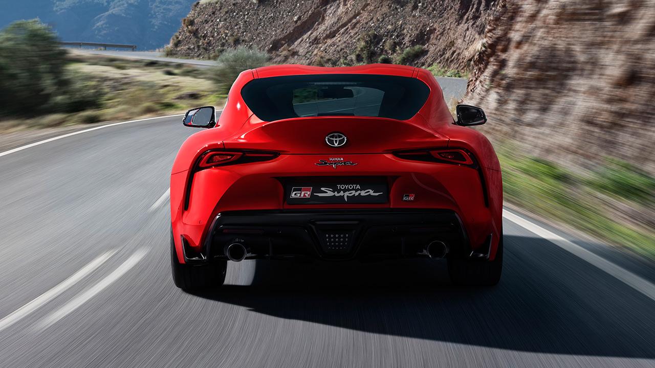 Toyota Supra 2019 trasera