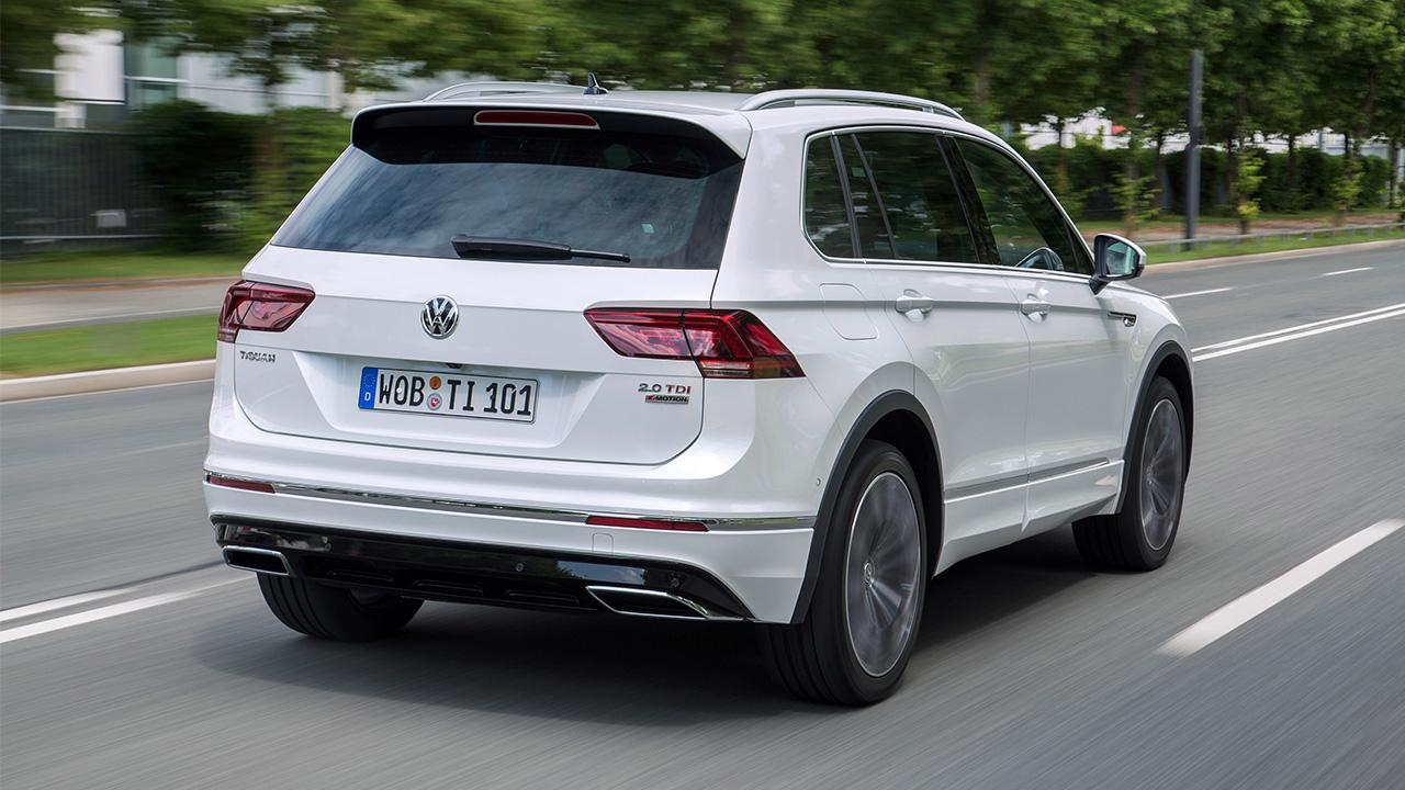 Volkswagen Tiguan trasera
