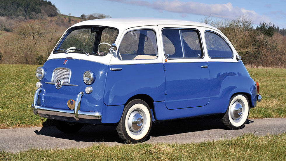 Fiat 600 Multipla clásico monovolumen