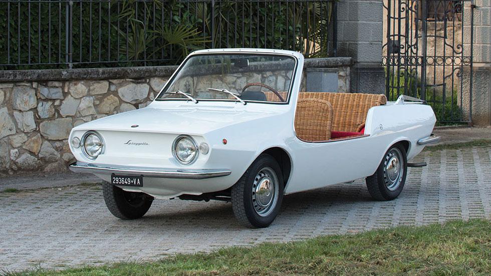 Fiat 850 Spiaggetta descapotable único