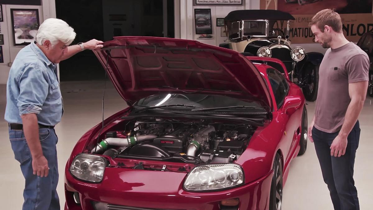 Toyota Of Ames >> Vídeo: el Supra del hermano de Paul Walker en el programa de Leno | TopGear.es