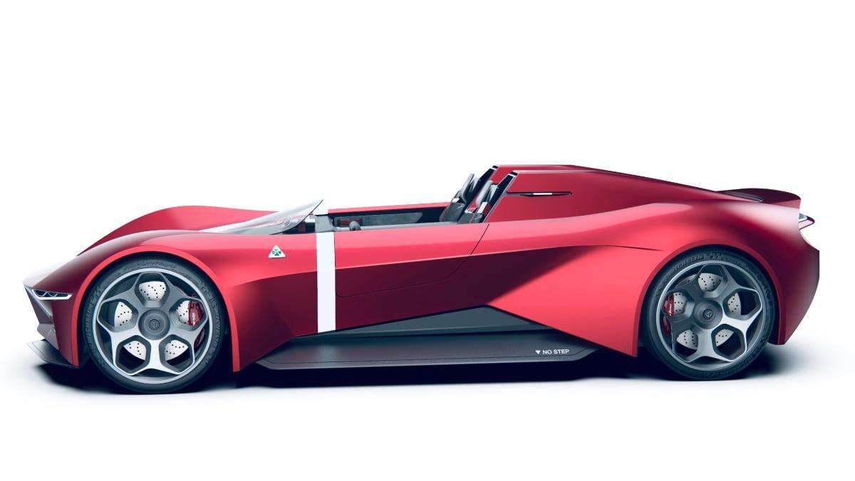 2020 Alfa Romeo Duetto Concept