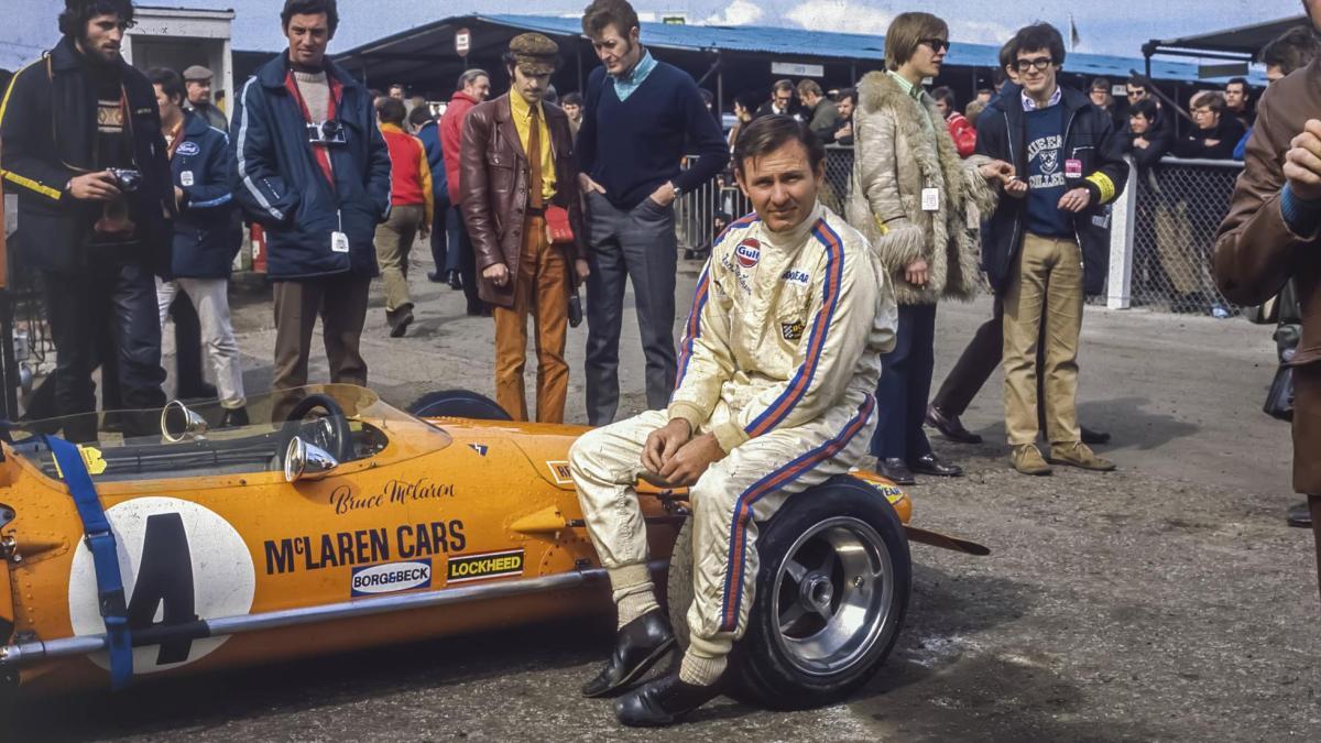 50 años de la muerte de Bruce McLaren. ¡Esta fue su historia!