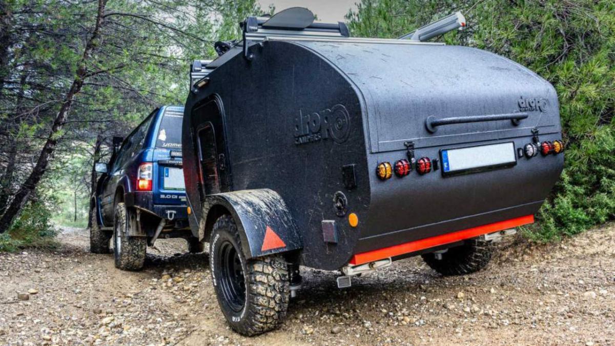 Mini caravana: viaja con la casa cuestas en formato compacto