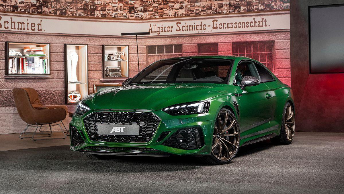 Audi Abt Rs5 2021 El Complemento Ideal Para Este Coupe De Altos Vuelos Topgear Es