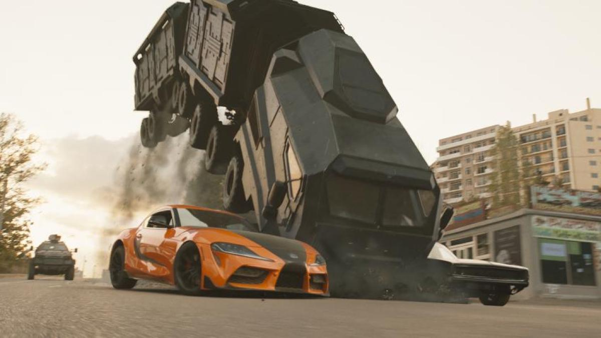 Los coches en Fast & Furious 9