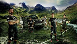Jeep lanza una nueva campaña con los jugadores de la Juventus