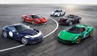 Ferrari 70 aniversario deportivos historia tailor made