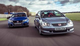 Comparativa Honda Civic Type R: el más querido contra el más potente