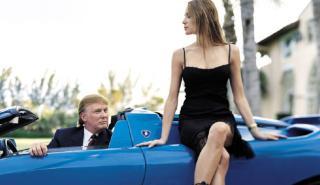 Los cochazos y las mujeres, dos pasiones de Donald Trump