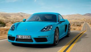 Coches para mujeres: Porsche 718 Cayman (II)