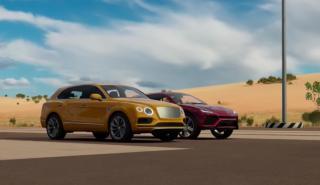 Drag Race Bentley Bentayga Lamborghini Urus