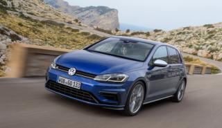 Coches para aprender a conducir con cambio manual: VW Golf R (I)