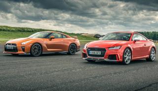 Nissan GT-R vs Audi TT RS