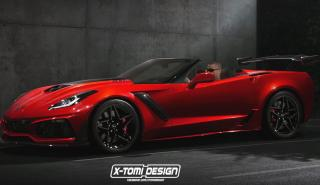 X-Tomi Design y su Corvette descapotable