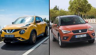 Nissan Juke vs Seat Arona