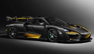 McLaren Senna de carbono