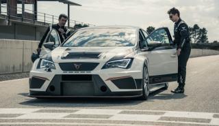 Lorenzo y Dovizioso prueban el CUPRA TCR
