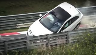 El accidente de un Ibiza en Nürburgring