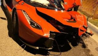 Accidente Ferrari LaFerrari