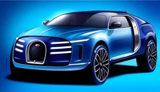 Bugatti SUV híbrido