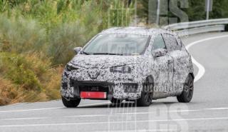 Renault Zoe 2020 fotos espia