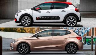 Citroën C3 vs Seat Ibiza