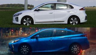 Hyundai Ioniq híbrido o Toyota Prius