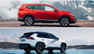 Honda CR-V 2019 o Toyota RAV4 2019