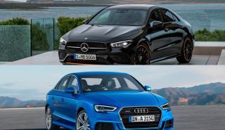 Mercedes CLA 2019 vs Audi A3 Sedán