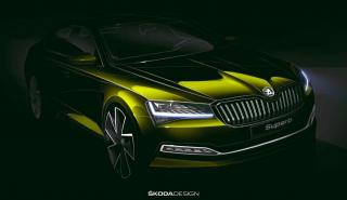 Skoda Superb 2019 - boceto
