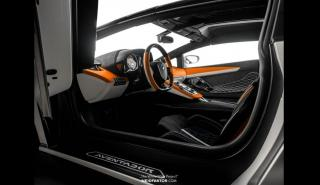 lujo interior alta gama deportivo personalizado