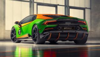Lamborghini Huracan EVO GT Celebration trasera