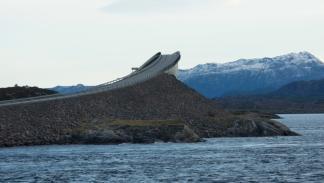 carretera del Atlántico en Noruega puente
