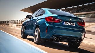 BMW X6 M dinámica trasera
