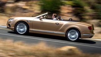 Bentley Continental GT Convertible 2015 perfil