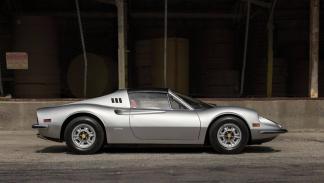 subasta Ferrari Dino 246 GTS 1974 lateral
