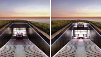 casa con garaje con vistas al mar 2