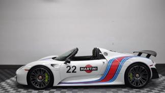 Porsche 918 Spyder Martini lateral