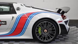 Porsche 918 Spyder Martini llantas traseras