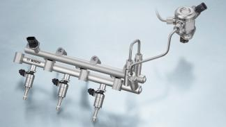 Motor. Sistema de inyección