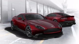Aston Martin Vantage GT8 burdeos configurador rojo